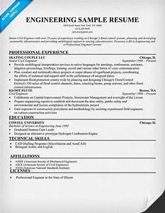 Engineering Sample Resume Resumecompanion Com