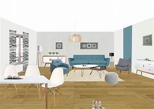 Style Et Deco : deco salon style scandinave inspirations et style ~ Zukunftsfamilie.com Idées de Décoration