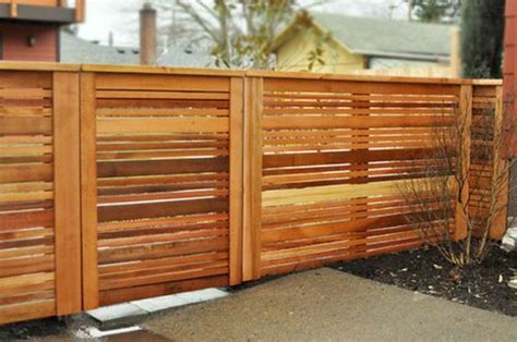 Modern Garden Fences Creating Privacy Outdoors