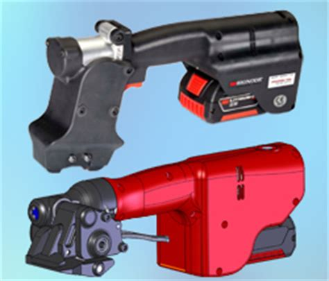 geny battery powered tools  steel strapping applications vertical strapping machine