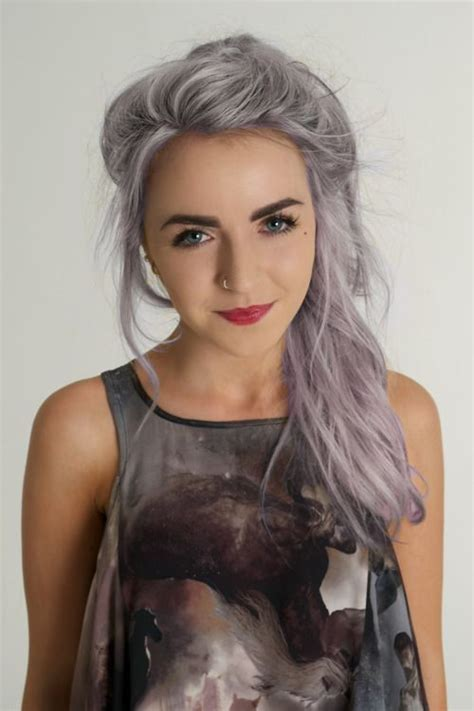 Laurie Silver Hair Dye For Girls Hairstyles Pinterest