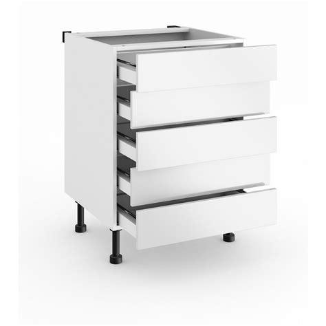 meubles cuisine bas meuble de cuisine bas avec 5 tiroirs cuisine