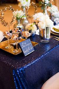 elegant sparkly barn wedding ideas in gold blue With blue and gold wedding ideas
