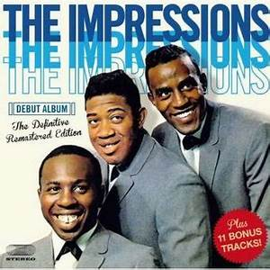 The Impressions : Debut Album CD (2014) - Imports | OLDIES.com