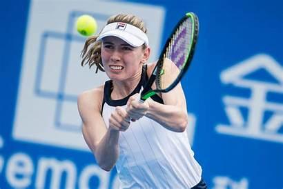 Alexandrova Russian Wta Tennis Second Ekaterina Lifts