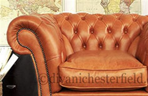 Poltrona Chesterfield Cuoio : Poltrone Chesterfield Nuove In Pelle