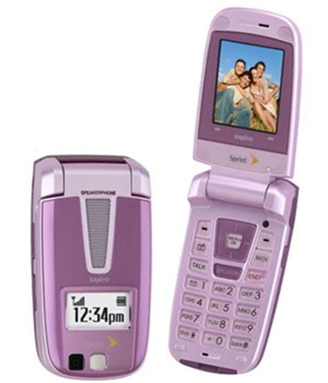 pink flip phone sanyo scp 3200 pink clamshell used sprint mobilecellmart