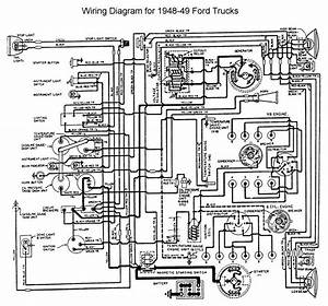1949 1951 Ford Dash Wiring Diagram