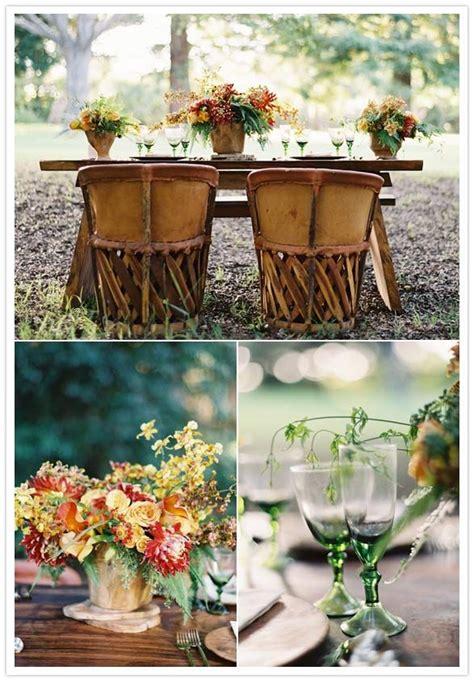 Rustic Outdoor Fall Wedding Rustic Fall Wedding Ideas