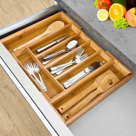 cassetto posate portaposate estensibile da cassetto cucina porta posate in