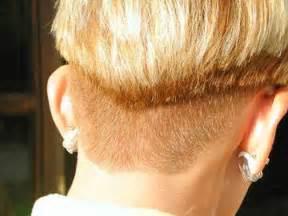 Short Wedge Haircut Back View