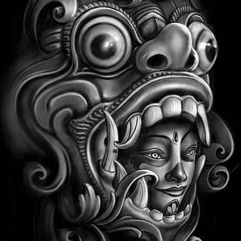 check    instagramcom balinese barong tatouage