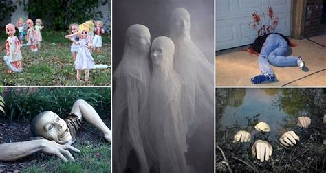 11 Horrifying Halloween Decorations Designed To Scare