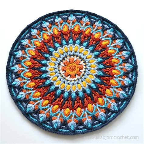 Round Rug Blue by Spanish Mandala Create Your Own Sun Lillabj 246 Rn S
