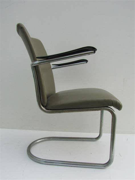 buisframe stoel gispen de wit buisframe stoel fauteuil chair