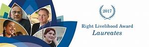 2017 Announcement | The Right Livelihood Award