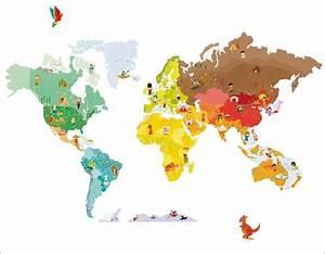 Tapete Weltkarte Kinderzimmer : weltkarte f r kinderzimmer wundersch ne weltkarte f r kinderzimmer bilder erindzain weltkarte ~ Sanjose-hotels-ca.com Haus und Dekorationen
