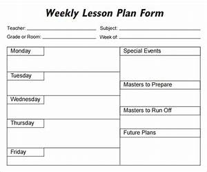 5 free lesson plan templates excel pdf formats With daily lesson plan template word document