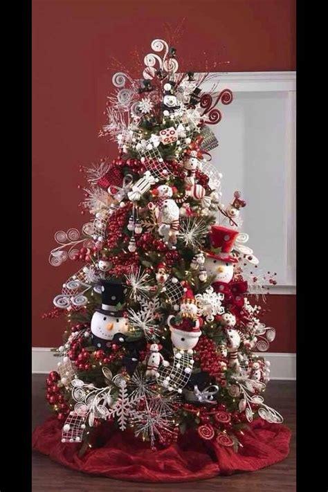 snowman christmas tree christmas ideas pinterest