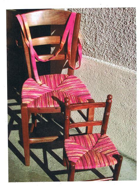 renover une chaise rempaillage de chaise en tissu cannage rempaillage