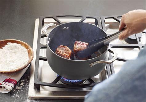 calphalon unison dutch oven  quart nonstick cookware cutlery