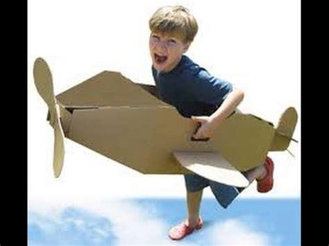 ideas de aviones de carton  tus ninos te encantaran todas youtube