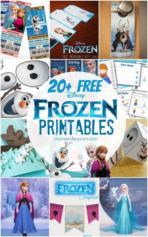 disney frozen crafts fun food ideas