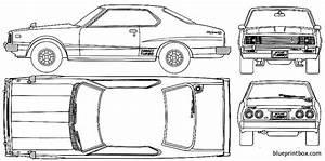 Datsun Skyline C210 240k 1977 Plans