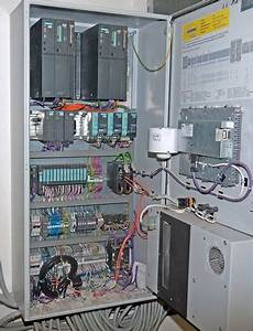 Plc Control Cabinet With Siemens Plc Simatic S7