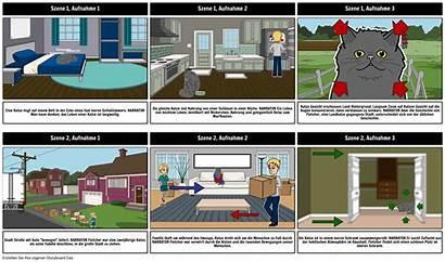 Storyboard Ejemplo Voorbeeld Esempio Examples Fertiges Terminado