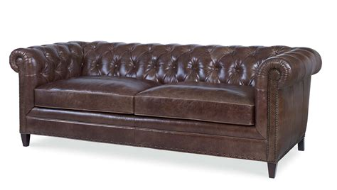 Leather Tufted Loveseat by Leather Tufted Sofa
