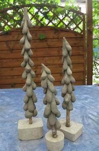 Basteln Mit Knetbeton : diy windschiefe tanne aus knetbeton hobbymade bastelbedarf ~ Lizthompson.info Haus und Dekorationen
