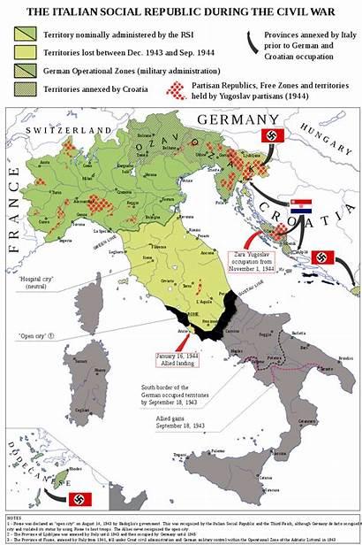 Italy History Italian Republic War Social Map