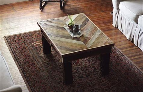 Diy Reclaimed Pallet Wood Tables