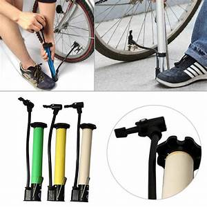 Bicycle Motorcycle Mini Tire Air Pump Skid Proof Portable