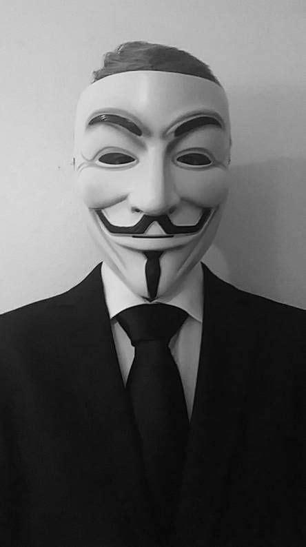 anonymous mask aesthetic iphone zedge neon halloween