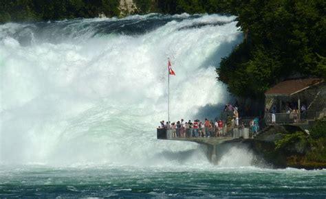 Boat Ride Rhine Falls Switzerland by Rhine Falls An Spot 1 Hour From Z 252 Rich