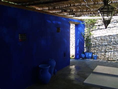 patio bleu majorelle sionu  su