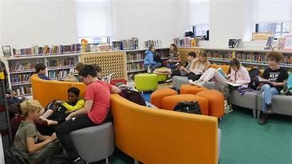 Library Middle Libraries Technology