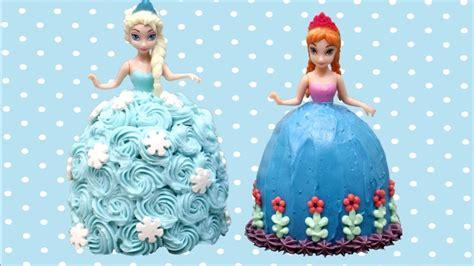 Elsa And Anna Mini Frozen Cakes