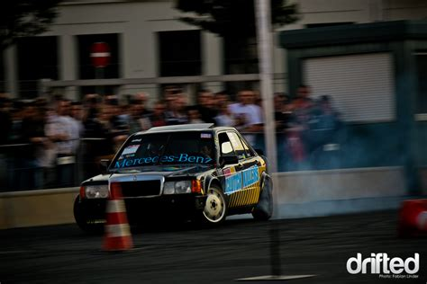 All other standard services offered as part of mercedes me connect will only take effect when you expressly request them and have accepted the conditions of use. Mark did the start in his Mercedes 190E | Drifted.com