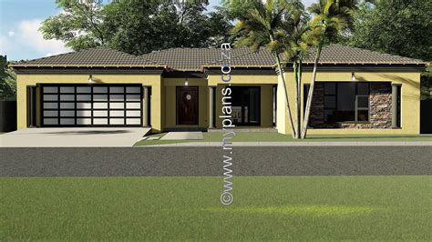 bedroom house plan mlb   building plans south africa