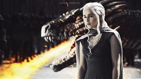daenerys  dragon  hd desktop wallpaper   ultra