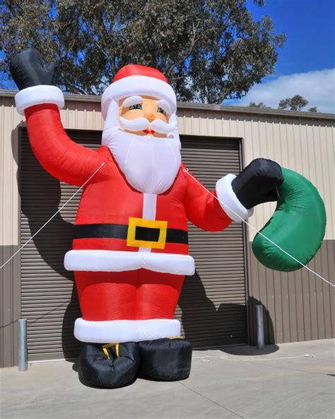 christmas xmas giant santa claus inflatable extra large 6