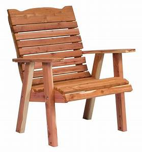 Cedar, Wood, Patio, Lounge, Chair, From, Dutchcrafters, Amish, Furniture