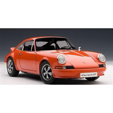 porsche 911 orange autoart 1 18 porsche 911 carrera rs 2 7 1973 orange