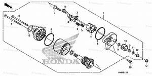 Honda Atv 2011 Oem Parts Diagram For Starting Motor