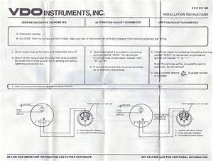 Vdo Fuel Gauge Wiring Diagram
