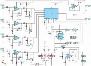 4 Channel Audio Mixer Circuit