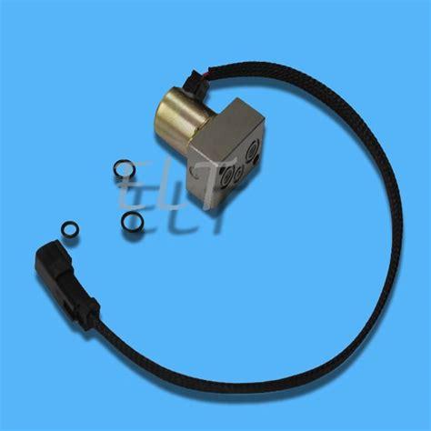 komatsu pc    excavator main pump hydraulic pump solenoid    pilot
